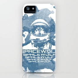 Spacewolf iPhone Case