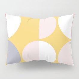 Mid Century Modern Moon & Sun Pattern 2 Pillow Sham