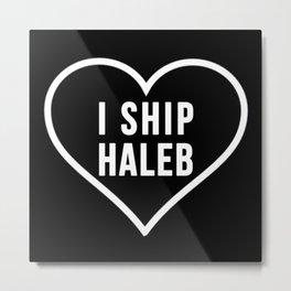 HALEB Metal Print