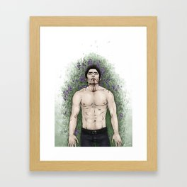This Might Hurt Framed Art Print