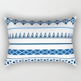 Traditional Influence Pattern I Rectangular Pillow