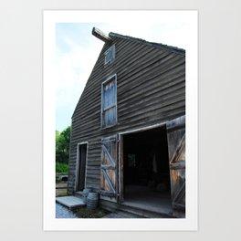 Stone Barns, Phillipsburg Manor, Sleepy Hollow, NY Art Print