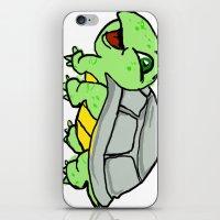 childish gambino iPhone & iPod Skins featuring childish turtle  by Martin