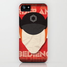 Order and Obedience iPhone Case