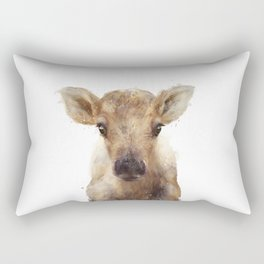Little Reindeer Rectangular Pillow