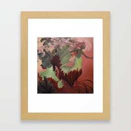Tipping the Balance Framed Art Print