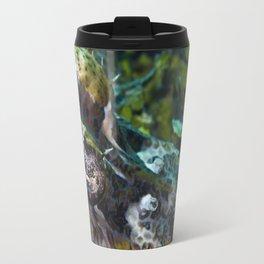 Camouflaged crocodile fish Travel Mug