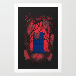 Melty Welty Timey Wimey Art Print