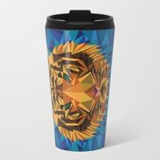 Liger Abstract - Its a Lion Tiger Hybrid Travel Mug