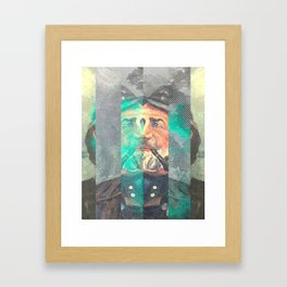 Any Sane Man Can be a Sailor Framed Art Print