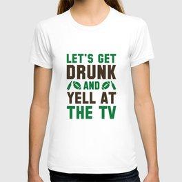 Drunk Football T-shirt