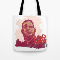 mad max Tote Bags featuring Mad Max by Andy Christofi