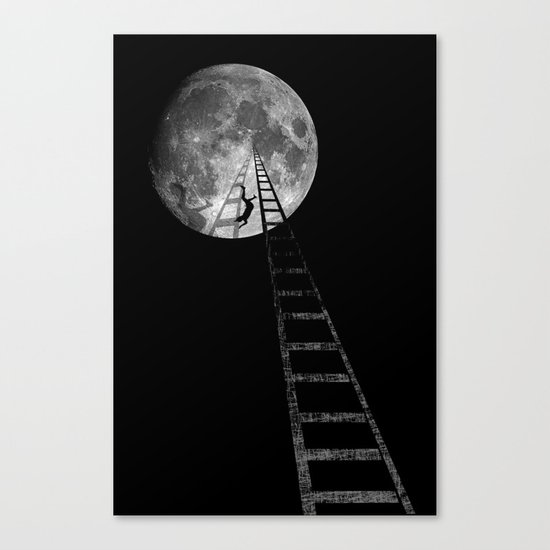volare oh oh cantare Canvas Print