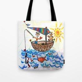 :: Row, Row, Row Your Boat :: Tote Bag