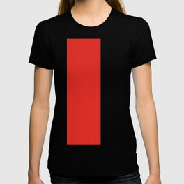 rayures blanches et rouges 7 T-shirt