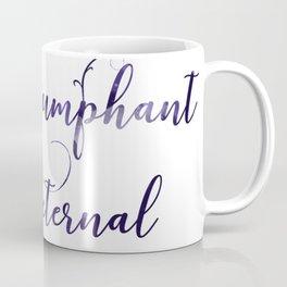 Night Triumphant and Stars Eternal Coffee Mug