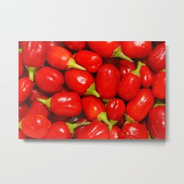 Red peppers Metal Print