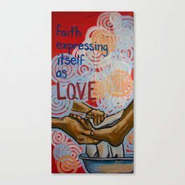 faith expressed Canvas Print