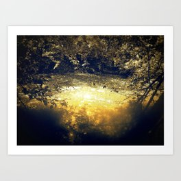 It was therefore logical to occultists that the planets also possessed their own souls. Art Print