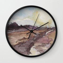 The Watery Sun Wall Clock