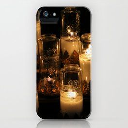 church candles iPhone Case