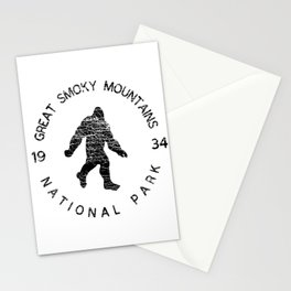 Great Smoky Mountains National Park Sasquatch Stationery Cards