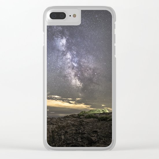 Milkyway at the Backshore Clear iPhone Case