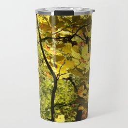Fall Leaves Travel Mug
