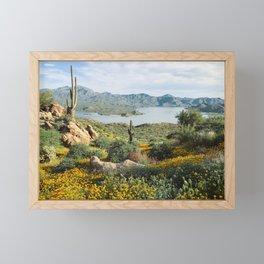 Arizona Blooms Framed Mini Art Print