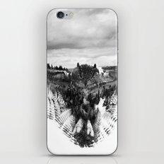 Owl Mid Flight iPhone & iPod Skin