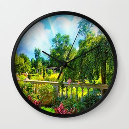 The Beauty Of Nature Wall Clock