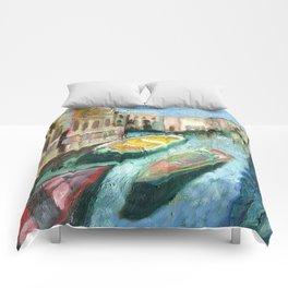 Three Boats Venice Comforters