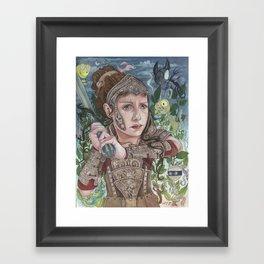 Dragon Warrior Framed Art Print