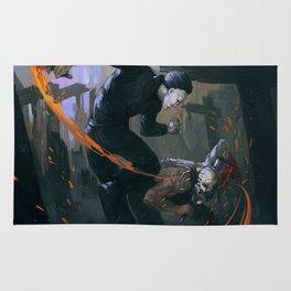 Myers versus Trapper Rug