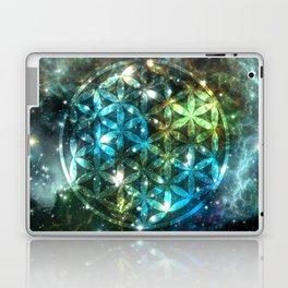 Flower of Life Nebula sky 150916 Laptop & iPad Skin