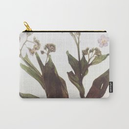 Leaf & Floral Carry-All Pouch