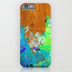Watercolour Arbutus Wood Slim Case iPhone 6s