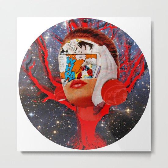 A dream for a lifetime · Silva & the universe · Crop Circle Metal Print