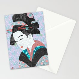 The Bamboo Cutter's Daughter Stationery Cards