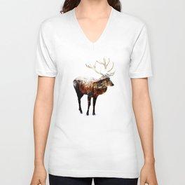 Arctic Deer Unisex V-Neck
