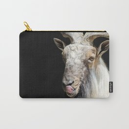 Cheerful Markhor Carry-All Pouch