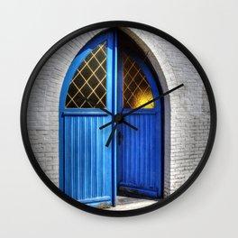 Small church Kempen Belgium Europa Wall Clock