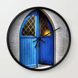 Small church Kempen Belgium Europa Wall Clock