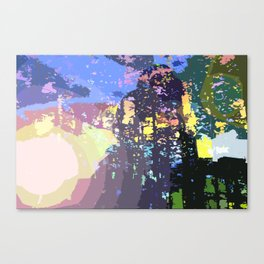 Future City Canvas Print