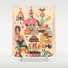 Structura 4 Shower Curtain