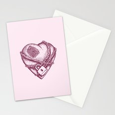 My Locked Heart Stationery Cards