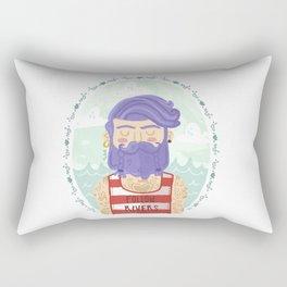 Follow Rivers Rectangular Pillow