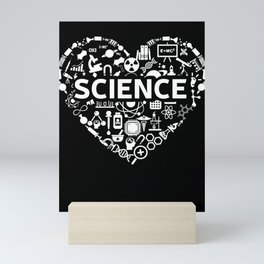 Science Lover - Science Chemistry Biology Quantum Physics Math STEM Mini Art Print