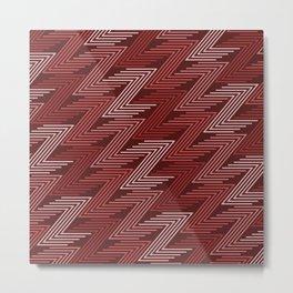 Op Art 91 Metal Print