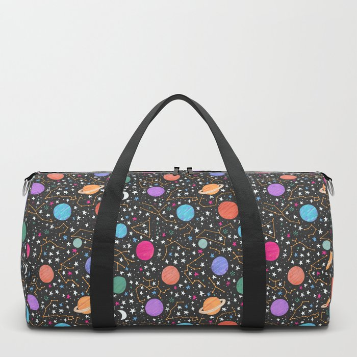 Astrology Pattern Duffle Bag